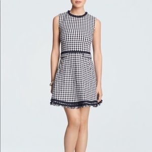 Draper James Gingham Love Circle Dress size 12
